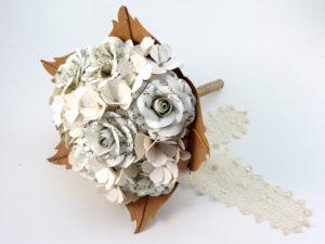rose and hydrangea script bouquet