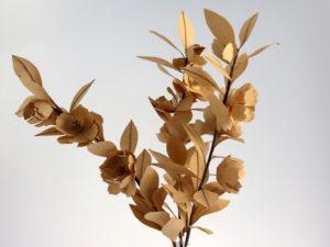 kraft paper camelia