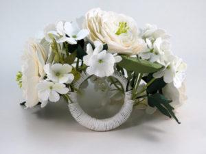 hydrangea bracelet bouquet