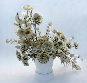 Book flower Composition