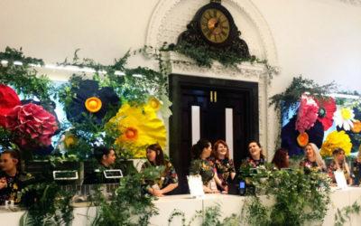 Floral Backdrop at H&M Flagship Store | Dublin
