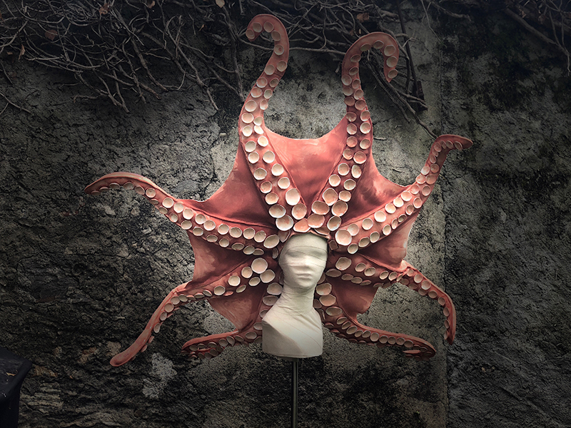 Octopus Headdress 4