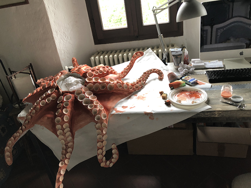 Octopus Headdress